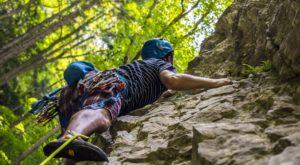 Die Klettergärten im Goms sind äusserst empfehlenswert mit ihren variantenreichen Touren.